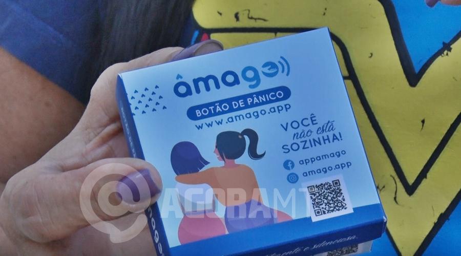 Imagem: botao do panico 'Botão de Pânico' projeto auxilia mulheres em situação de risco e violência