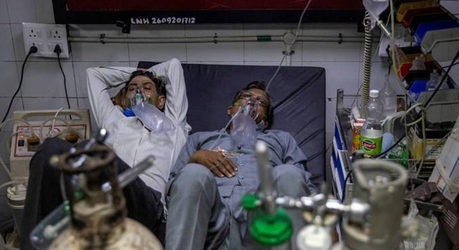 Imagem: casos india Índia supera 20 milhões de casos de covid-19