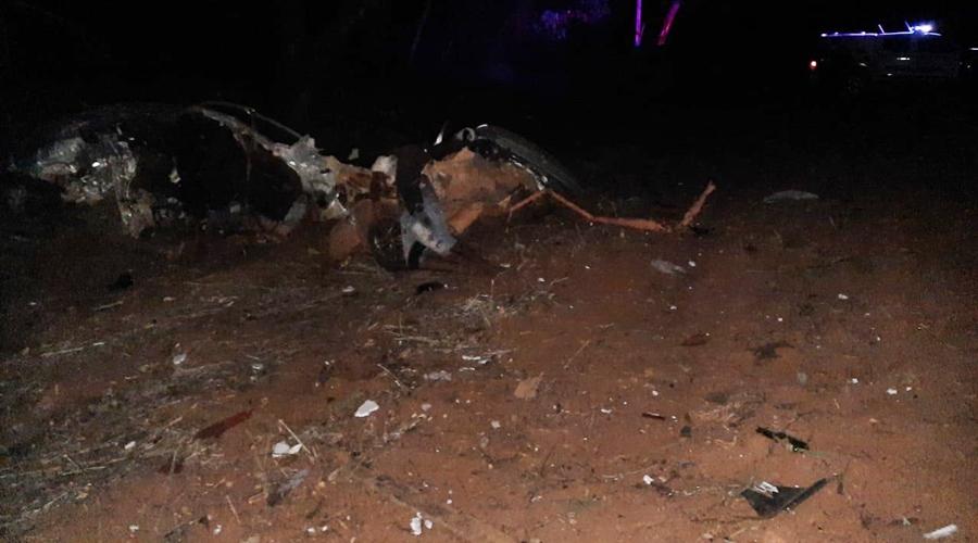 Imagem: e6b3f4d5 56ae 4e44 8df7 5451d6cd9f65 Duas pessoas morrem e uma fica ferida em acidente na MT-344