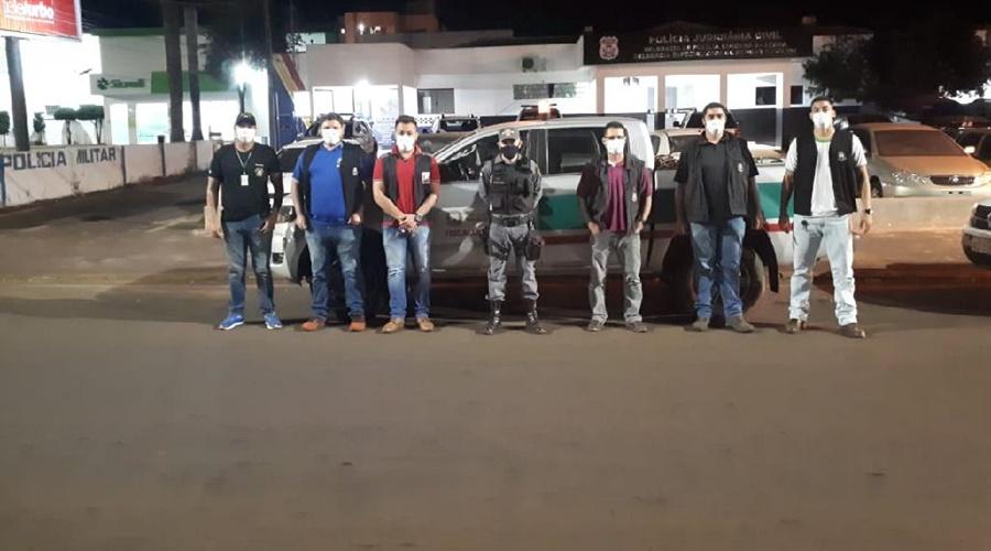 Imagem: equipe guiratinga Trabalho integrado dispersa aglomeração e detém 21 pessoas