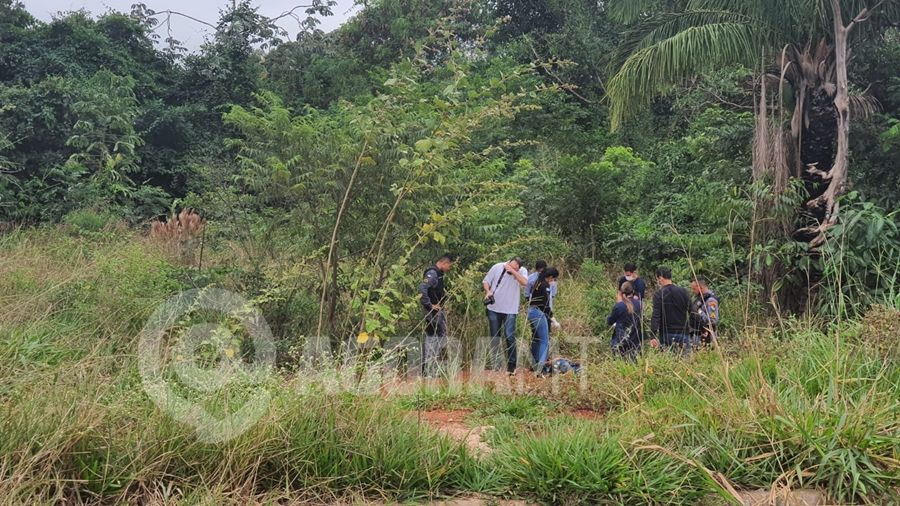 Imagem: homem encontrado morto foto lorraine costa tv vale Corpo com pés e mãos amarrados é encontrado em matagal