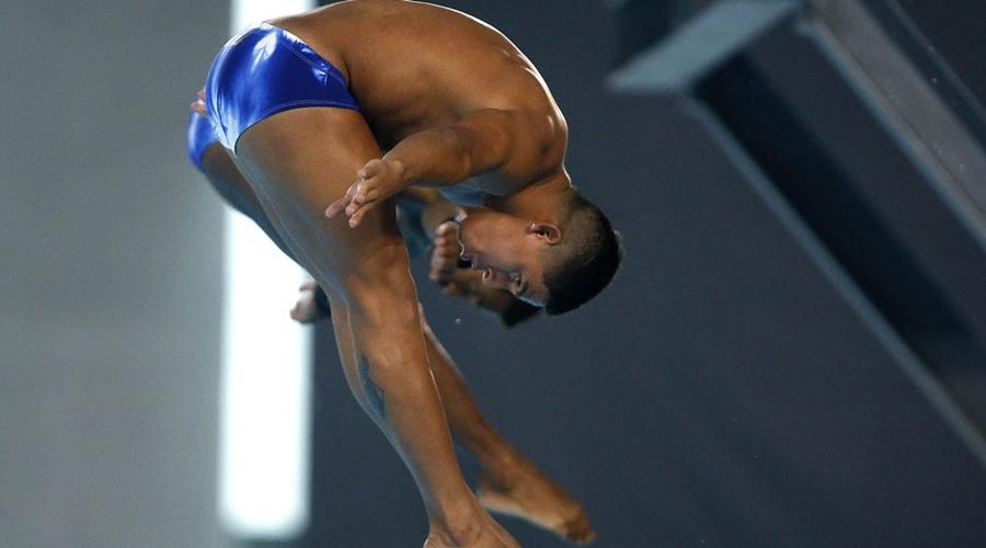 Imagem: isaac souza kawan pereira saltos Brasil não classifica duplas dos saltos ornamentais para Olimpíada