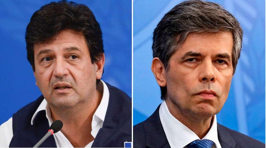 Imagem: mandeta teich Mandetta e Teich serão ouvidos hoje pelos senadores na 'CPI da Pandemia'