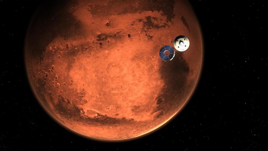 """Imagem: marte planeta vermelho foto nasa Astrofísica brasileira na China: """"Vivemos era de ouro na astronomia"""""""