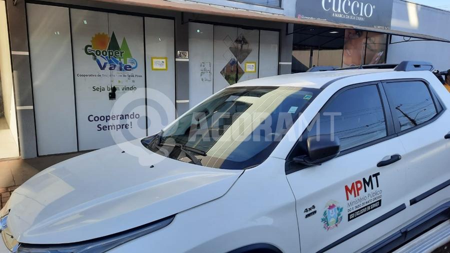 Imagem: ministerio publico gaeco copervale foto varlei cordova MP mantém sigilo e Câmara avalia investigação sobre cooperativa