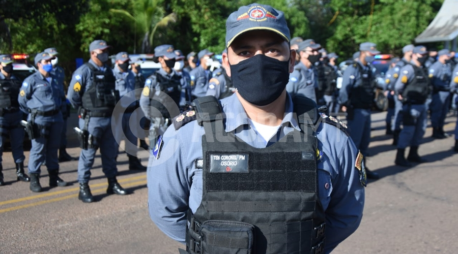Imagem: osorio 'Operação Dispersão IV' é lançada pela Polícia Militar