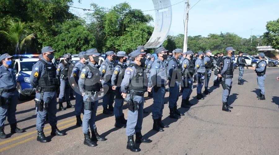 Imagem: policia 'Operação Dispersão IV' é lançada pela Polícia Militar