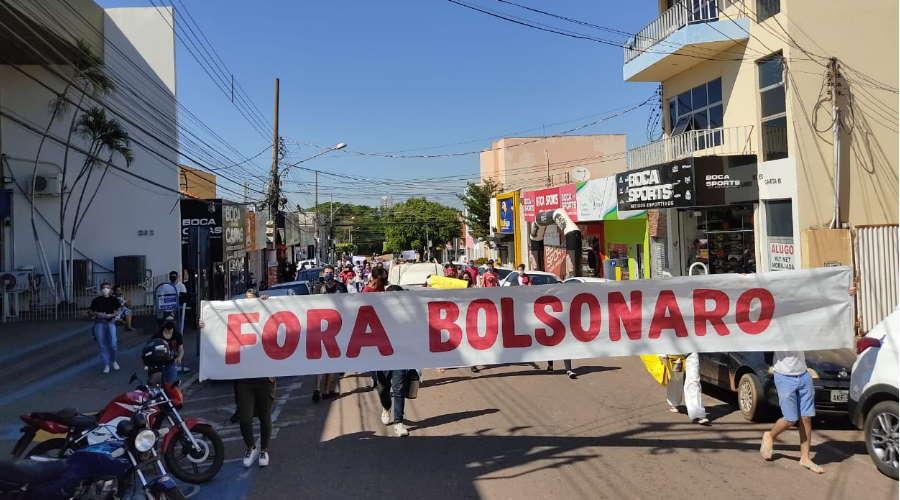 Imagem: protesto forbolsonaro roo Manifesto nacional terá atos hoje em Cuiabá e Rondonópolis