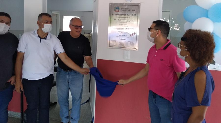Imagem: psf PSF é inaugurado no Distrito de Boa Vista