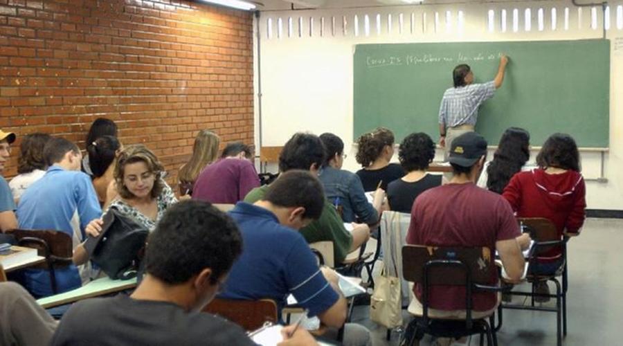 Imagem: sala de aula 2 Bolsas do Prouni: prazo para entrega de documentos termina hoje