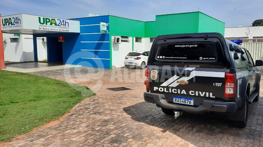 Imagem: upa 24 horas roo feto policia civil Feto é encontrado em rede de esgoto da UPA