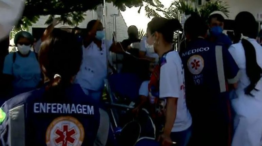 Imagem: upa incendio Quatro pacientes morrem após incêndio em UPA de Aracaju (SE)