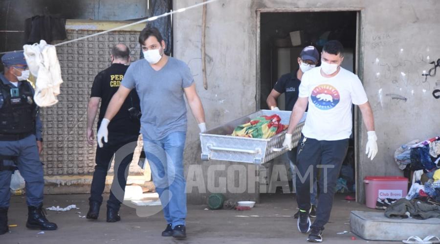 Imagem: usuaria morta Rondonopolis 2 Mulher é encontrada morta em barracão ocupado por usuários