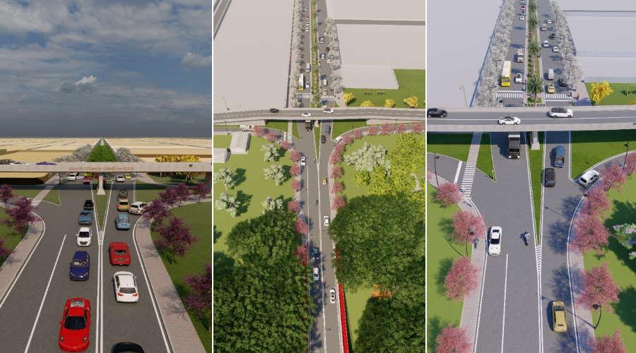 Imagem: viaduto fernando Vereador pede construção de viaduto sobre a avenida Lions Internacional