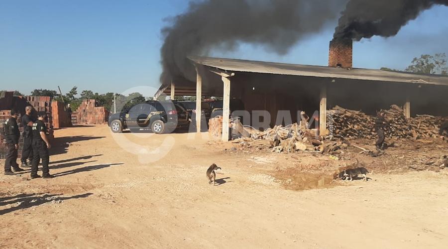 Imagem: 494189eb 69b6 4efb b737 c5f68927162f PF incinera 842 kg de entorpecentes em Barra do Garças