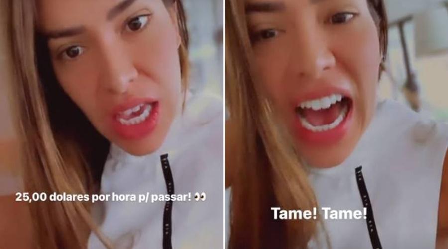 Imagem: Adriana Influenciadora é criticada ao reclamar de salário de faxineiras