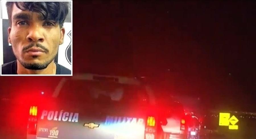 Imagem: Blitz em procura de lazaro Polícia faz blitz e vistoria veículos em busca do Serial Killer Lázaro Barbosa