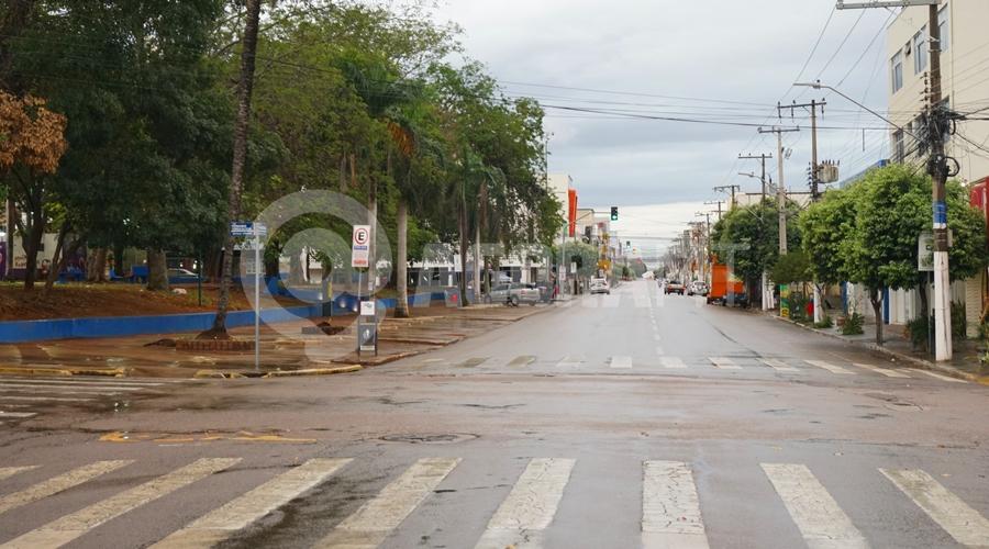 Imagem: Chuva em Rondonopolis na data de hj Rondonópolis amanhece com clima ameno e chuvoso