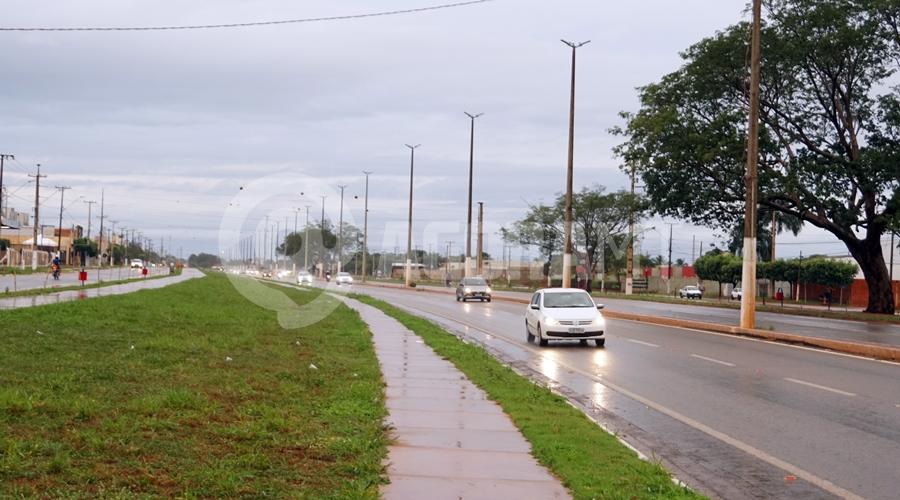 Imagem: Chuva em Rondonopolis Rondonópolis amanhece com clima ameno e chuvoso