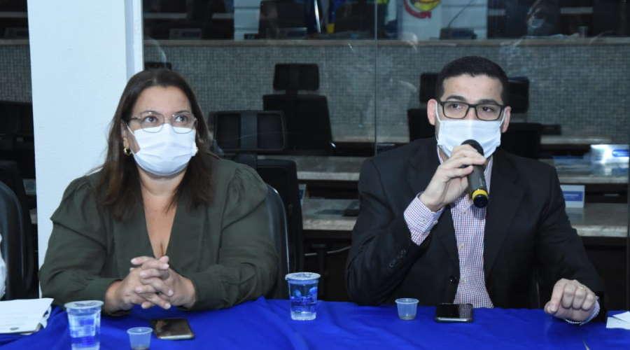 Imagem: Marildes Vinicius Encontro avalia união de municípios da região contra a pandemia