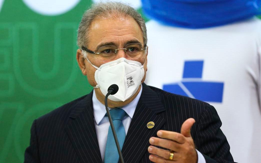 Imagem: Queiroga Ministro confirma doses extras de vacina a Cuiabá