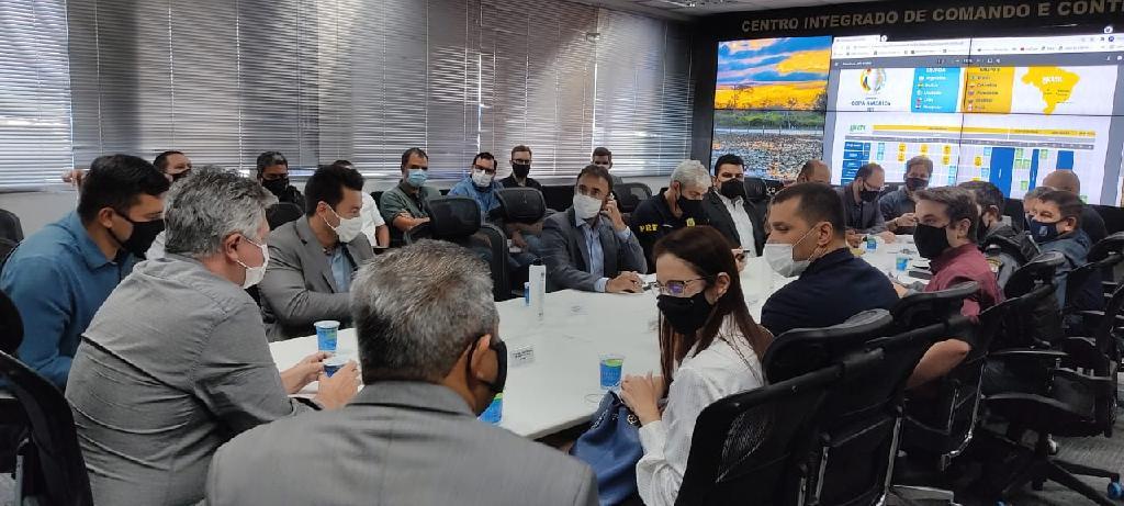 Imagem: Reuniao sobre seguranca da Copa America Segurança do evento é tratada durante reunião