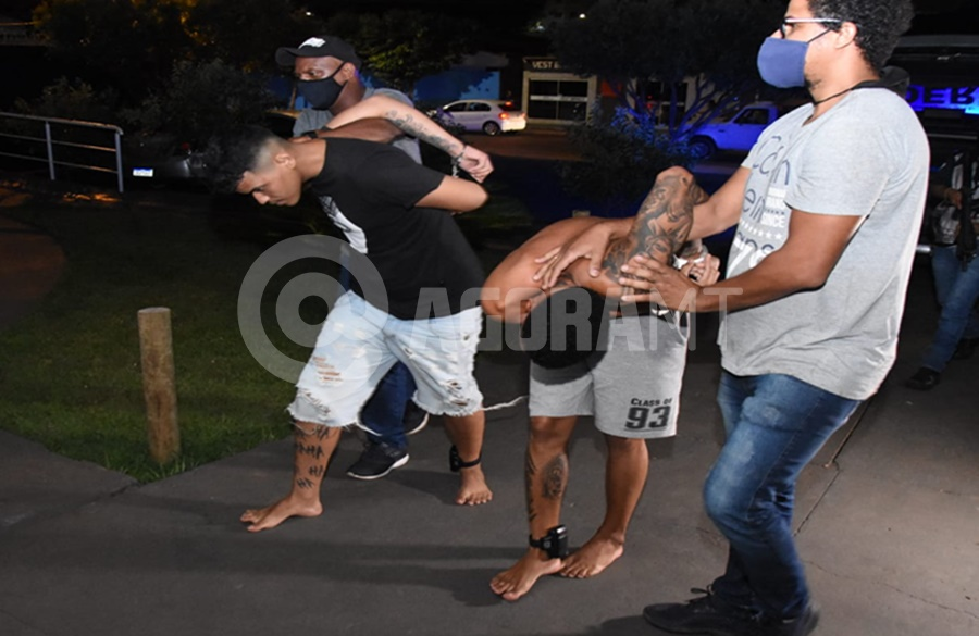 Imagem: Suspeitos presos no Jardim Pindorama DERF causa prejuízo para o tráfico com grande apreensão de droga e suspeitos presos