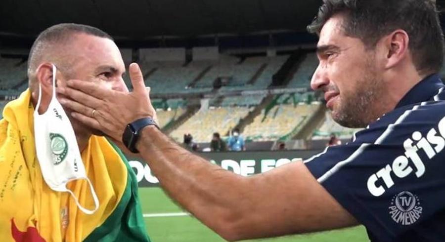Imagem: Weverton e Abel Abel e diretoria do Palmeiras não liberam Weverton para a Olimpíada