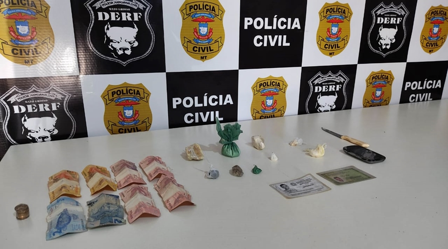 Imagem: WhatsApp Image 2021 06 09 at 18 30 35 Mulher atuante com o tráfico é presa com drogas