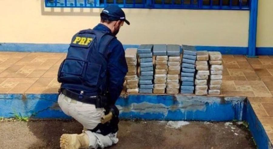 Imagem: apreensao de crack Crack é a droga que mais é apreendida nas rodovias do país