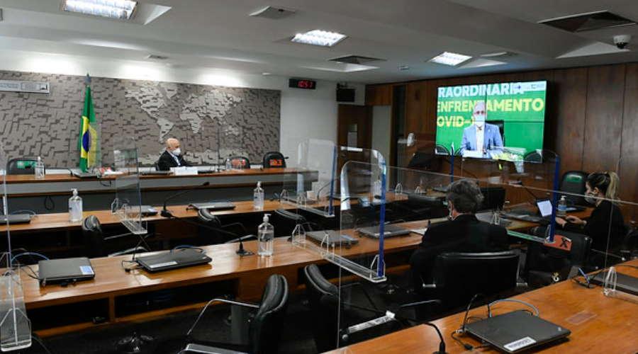 Imagem: audiencia queiroga Queiroga quer uso de indústrias veterinárias e vacinação total até o fim do ano