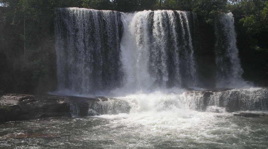 Imagem: cachoeira mulata Vale do São Lourenço fecha acesso às cachoeiras e reforça fiscalização