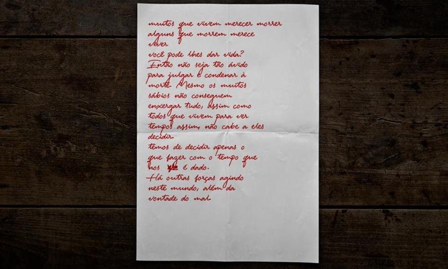 """Imagem: cartalazaro Carta encontrada em esconderijo de Lázaro: """"muitas pessoas merecem morrer"""""""