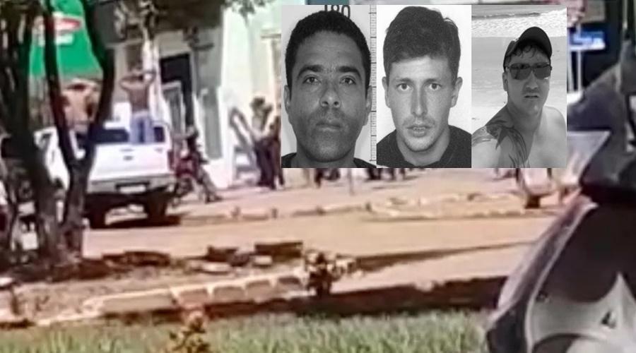 Imagem: criminosos identificados2 Caminhonete de assaltante é encontrada na garagem de empresário
