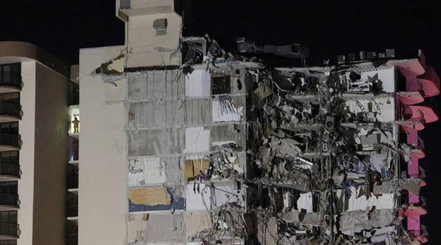 Imagem: desabamento miami 24062021075533329 Prédio de 12 andares desaba em Miami Beach, nos EUA