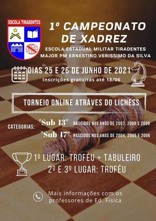 Imagem: escola militar Escola Militar realiza 1° Campeonato de Xadrez Virtual