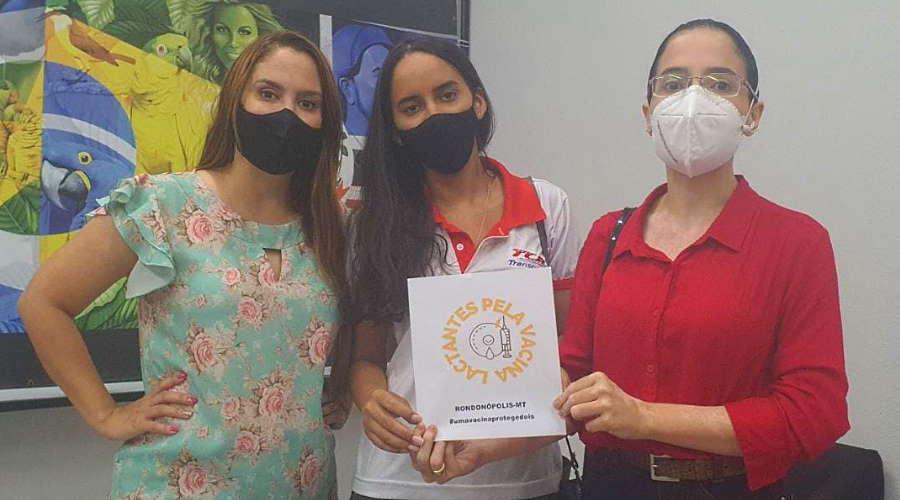 Imagem: kalinka lactantes Lactantes pedem apoio para garantir vacinação em Rondonópolis