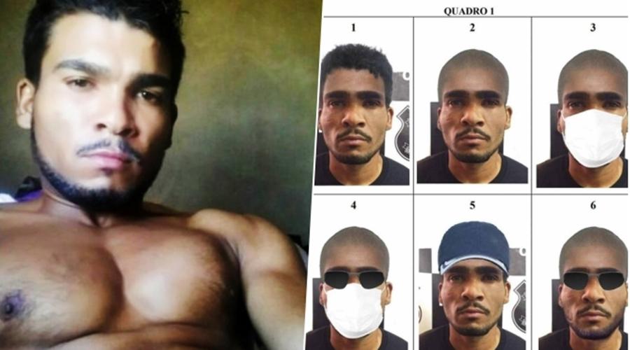 Imagem: lazaro retrato disfarce 'Espero que ele se entregue', diz mulher do foragido Lázaro Barbosa