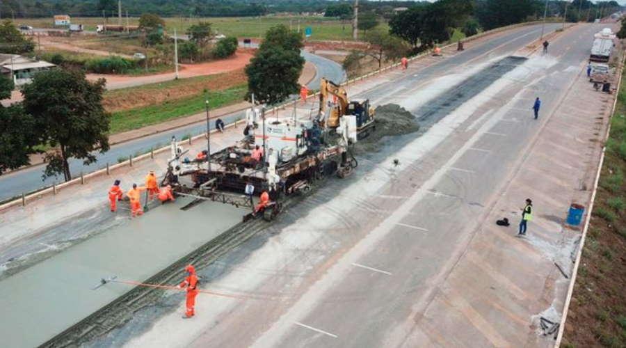 Imagem: obra dnit cba Superintendente do DNIT vai falar sobre obras em Mato Grosso