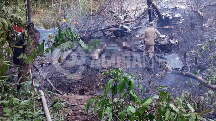 Imagem: queda aviao Veja quem são as vítimas da queda do avião na Rodovia do Peixe