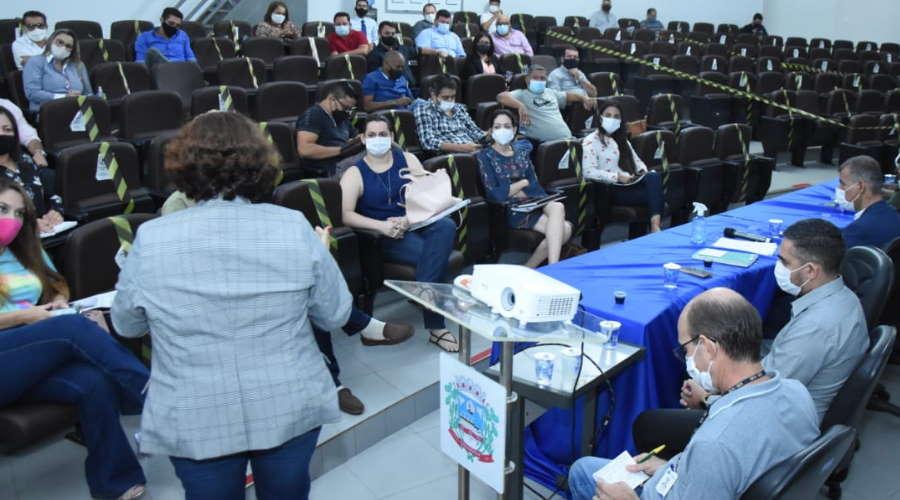 Imagem: reun saude vereadores encontrosudeste Encontro avalia união de municípios da região contra a pandemia