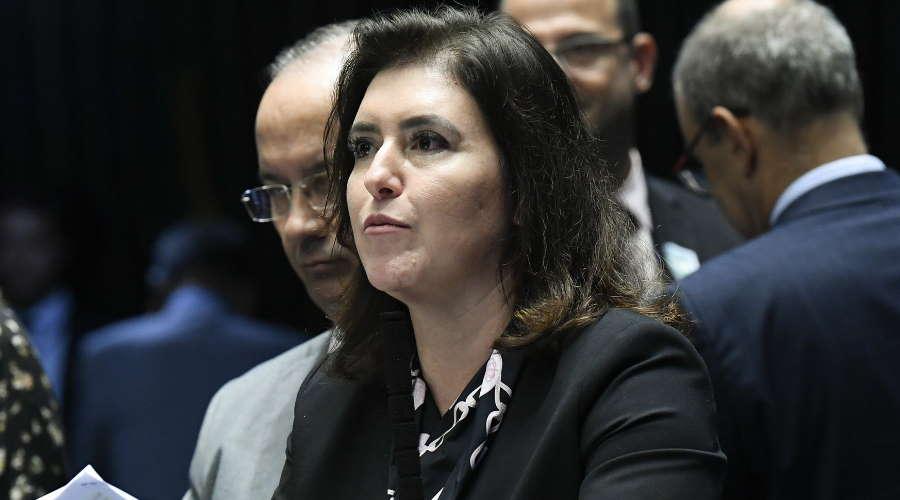 Imagem: simone tebet Senadores lamentam ataques de Bolsonaro ao trabalho da imprensa