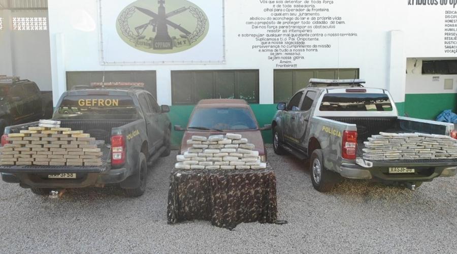 Imagem: whatsapp image 2021 06 05 at 08.49.37 Motorista é preso com mais de 150 pacotes de entorpecentes