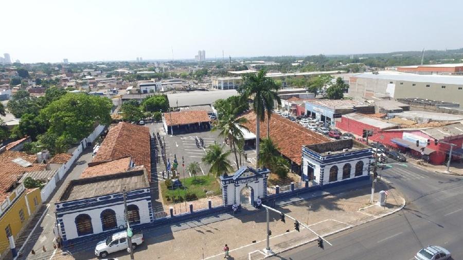 Imagem: 1o Batalhao da Policia Militar PM celebra 104 anos do 1º Batalhão de Polícia Militar de Cuiabá nesta quarta-feira (28)
