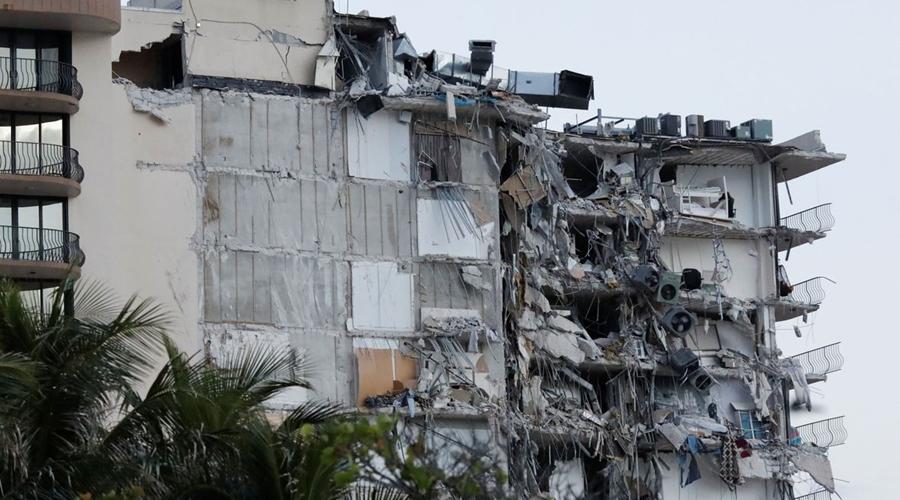 Imagem: 2021 06 24t111516z 874800582 rc2y6o9qe3vn rtrmadp 3 miami building Dezoito mortos são confirmados em desabamento de prédio em Miami