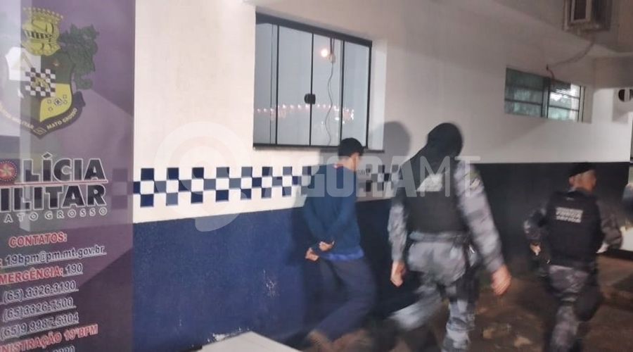 Imagem: 4e7a48df 7558 4614 af26 39b3814b6719 Homem é preso e droga apreendida pela Força Tática
