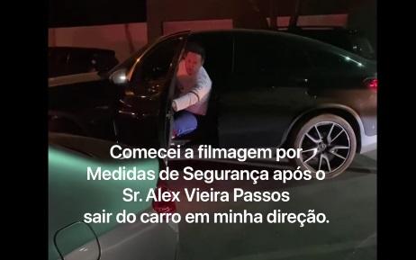 Imagem: Alex bo Ex-vereador registra B.O. contra ex-secretário por ameaça; Veja vídeo