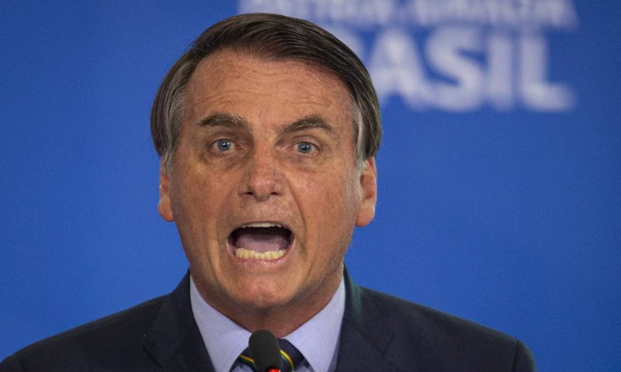 """Imagem: Bolsonaro bravo """"Vou provar fraude na urna eletrônica semana que vem"""", afirma Bolsonaro"""