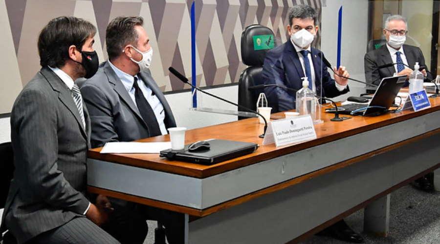 Imagem: CPI dominguetti Dominguetti reafirma que recebeu pedido de propina por vacinas