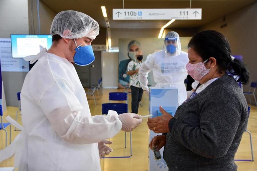 Imagem: Centro de triagem Mais de 193 mil pessoas são atendidas no Centro de Triagem Covid-19